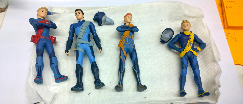 Sculptworks Thunderbirds Are Go