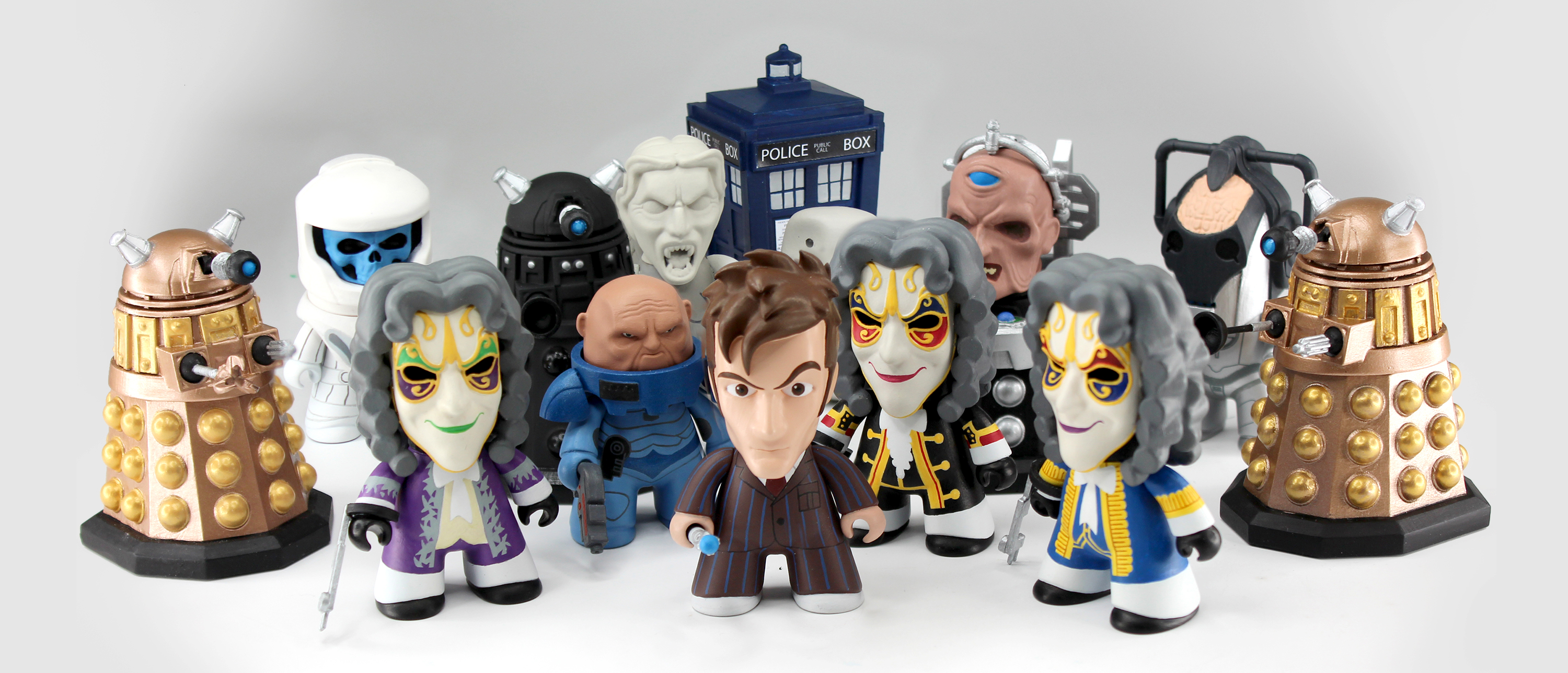 sculptworks vinyl collectible doctor who 07
