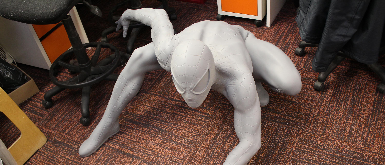 sculptworks spider man madame tussauds