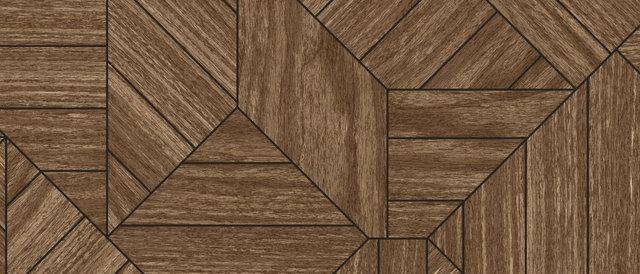 Wood Geometric Wallpaper