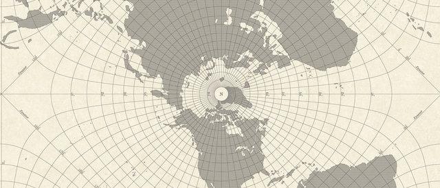 Maritime Map Wallpaper