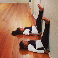 Chandralaya's beginner level gals in the