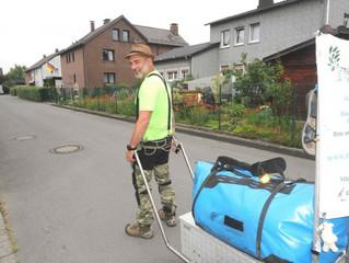 Haller Kreisblatt - Er läuft für das Leben durch ganz Deutschland