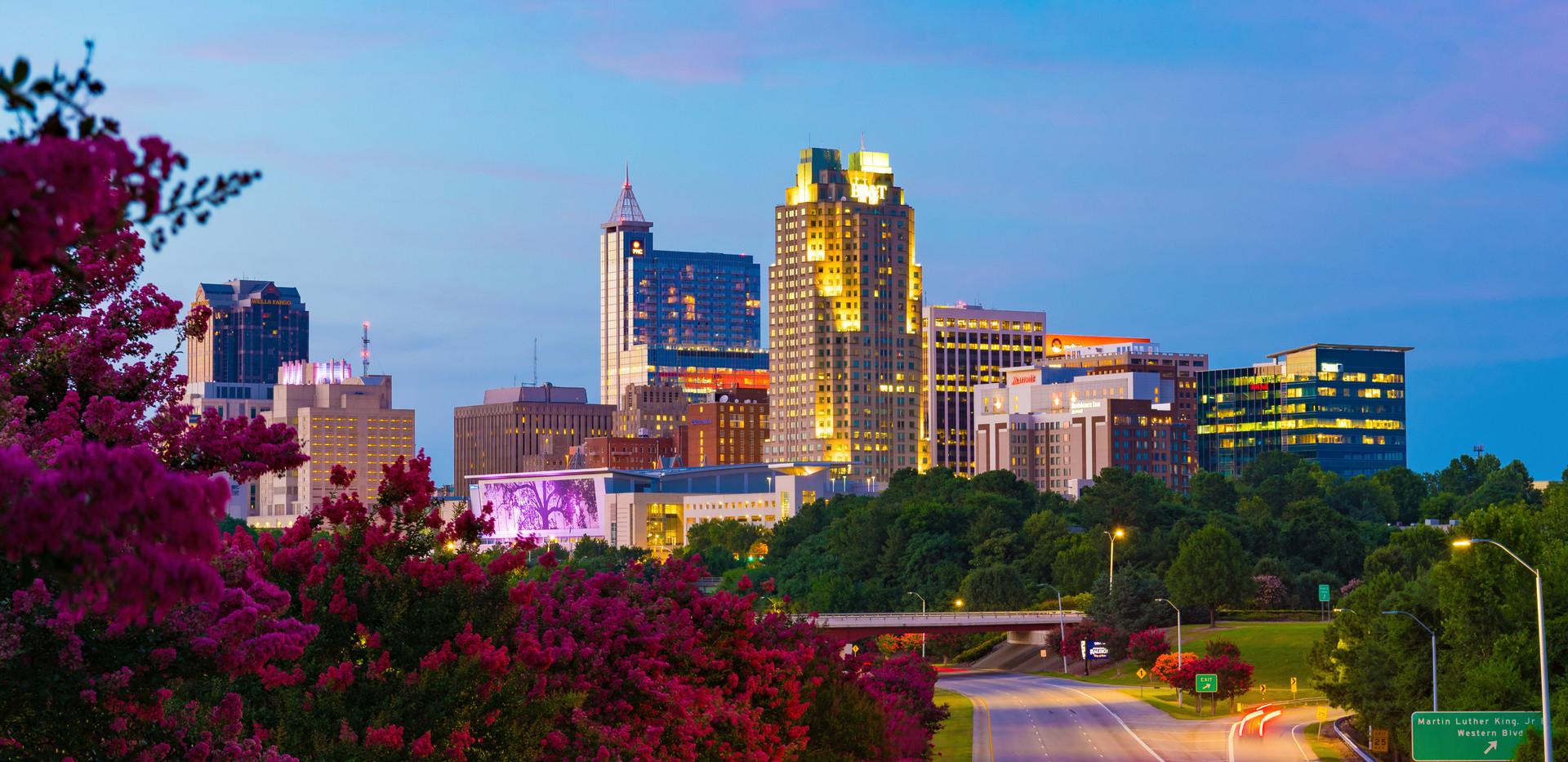 Skyline of Raleigh, N.C.