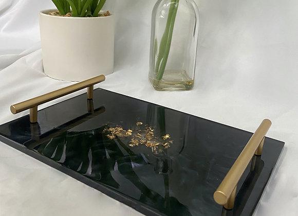 Black/ Gold Tray