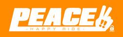 PEACE-logo オレンジ