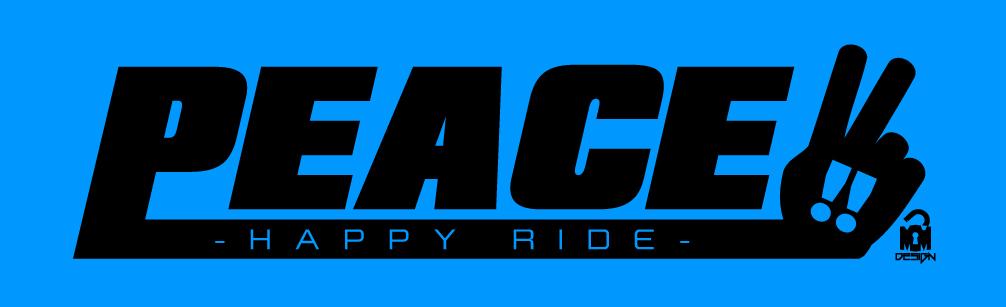PEACE-logo ライトブルー