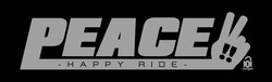 PEACE-logo グレー
