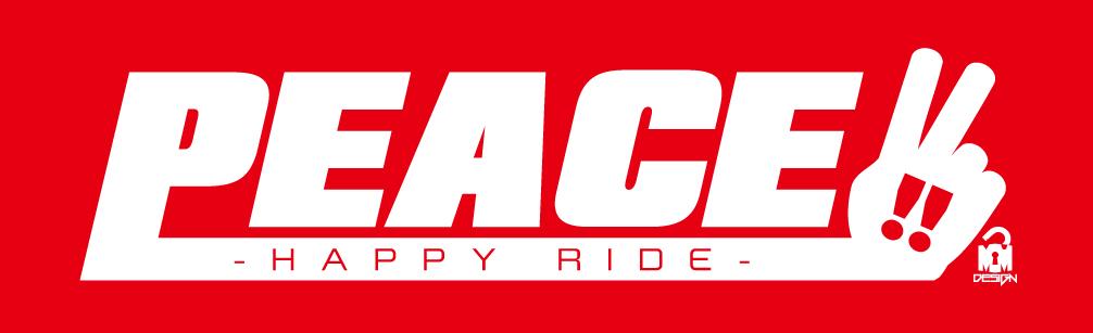 PEACE-logo 赤