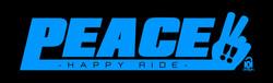 PEACE-logo ライトブルー3