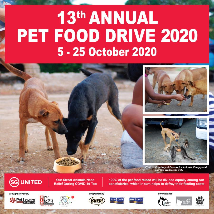 Pets Lovers Centre 13th Annual Food Drive