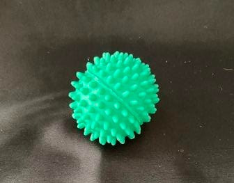 Spiked Rubber Squeaky Ball