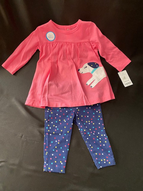 Carter's Baby Dress & Leggings