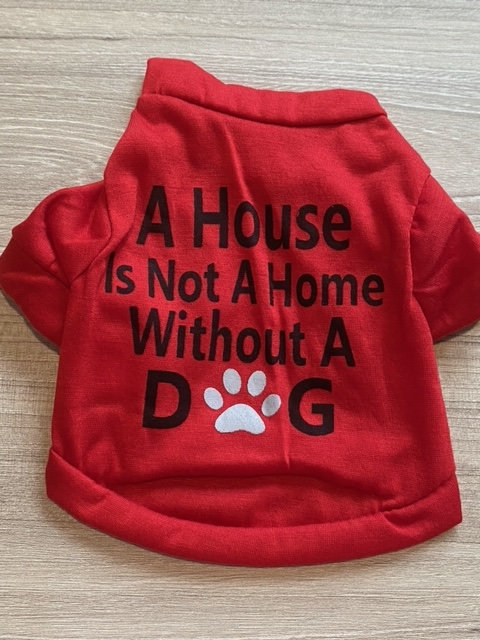 Pet T-Shirt with short sleeves (XS size)