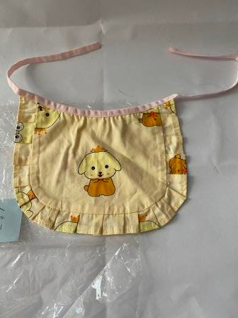 Bib with Dog Print