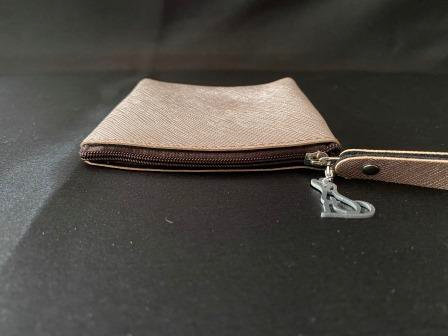 Coin Purse with Dog Shaped Charm