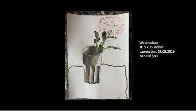 Watercolour  (10.5 x 15 inches)