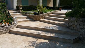 Un escalier complexe