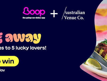 win a date with Boop & AVC