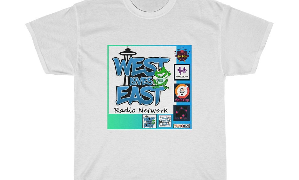 West Loves East Heavy Cotton Tee