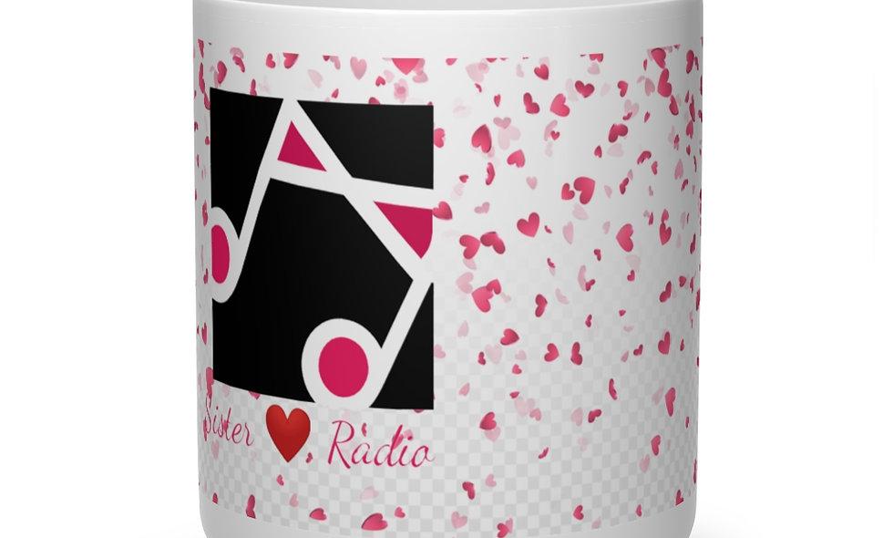 Sister Love Heart Shape Mug