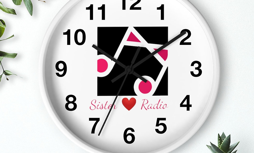 Sister Love Wall clock