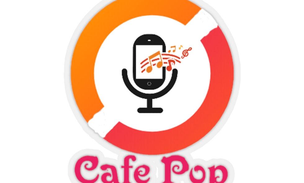 Cafe Pop Kiss-Cut Stickers