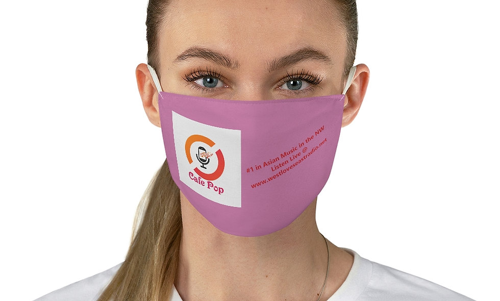 Cafe Pop Fabric Face Mask