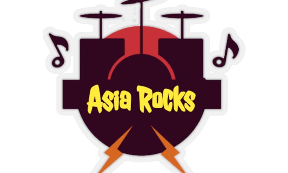 Asia Rocks Kiss-Cut Stickers