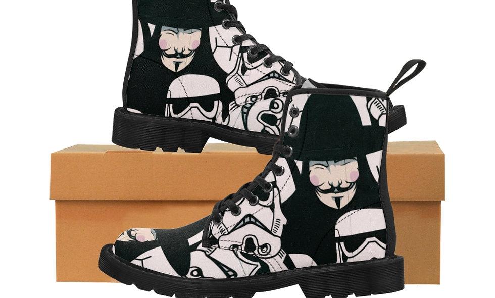 VTrouper Canvas Boots