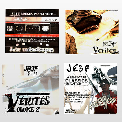 Pack 4 albums + 2 Clips Officiels