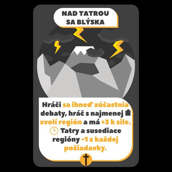 "karta ""nad Tatrou sa blýska"""