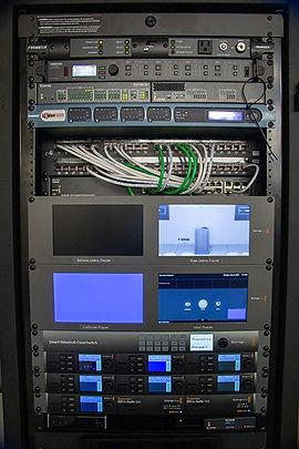 MFi Pro installed an Extron Blackmagic Control Rack