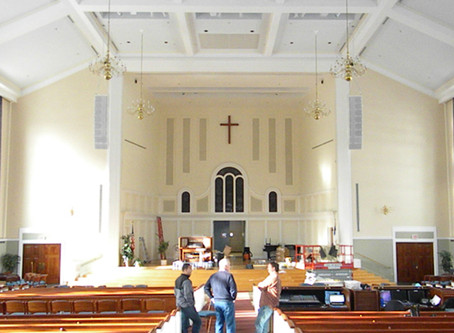 A.J. Gordon Memorial Chapel at Gordon College installs NEXO Geo S12 Series Speakers