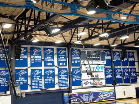 Full Court University Basketball Gym Gets NEXO Overhaul