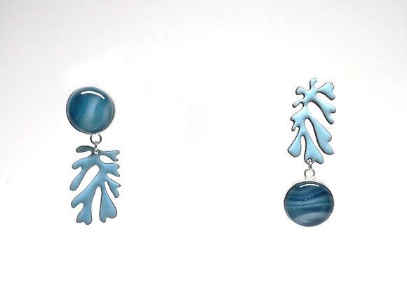 Matisse earrings blue