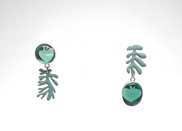 Matisse earrings teal