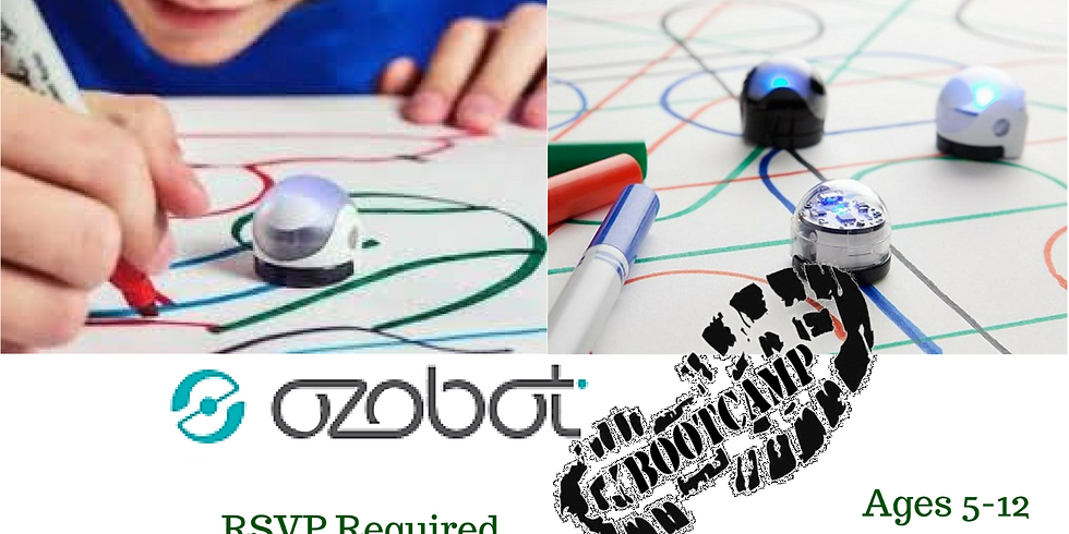 Summer Ozobots Camp (Ages 5-12)