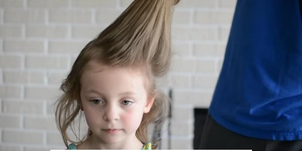Daddy Did My Hair!!!!