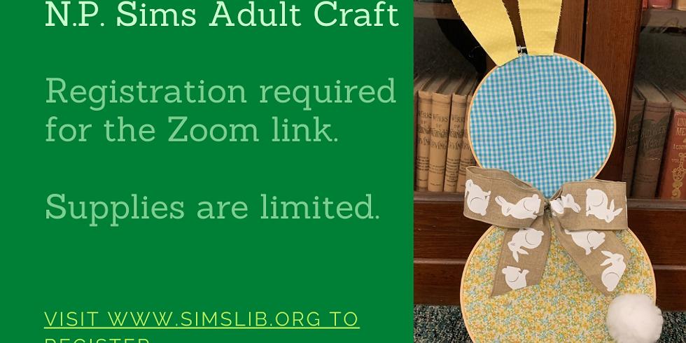 Adult Craft - Spring Bunny Craft