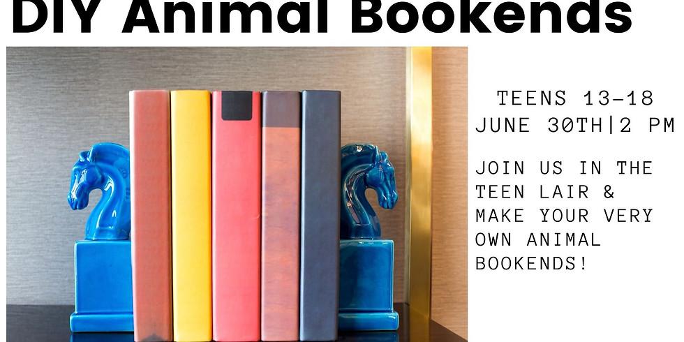 Teen Program - DIY Animal Bookends