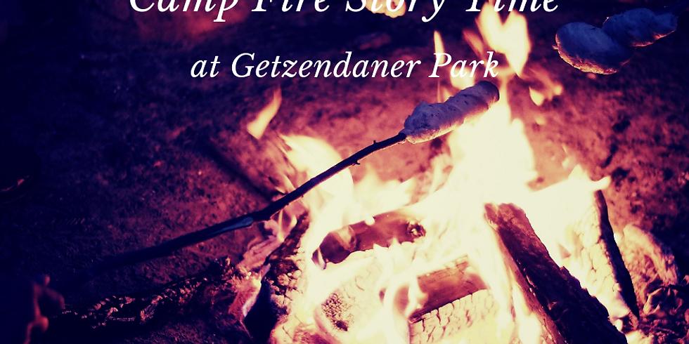 Camp Fire Story Time @ Getzendaner Park