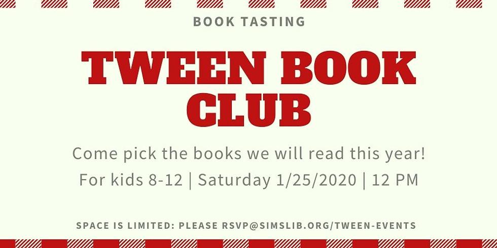 Tween Book Club - Book Tasting
