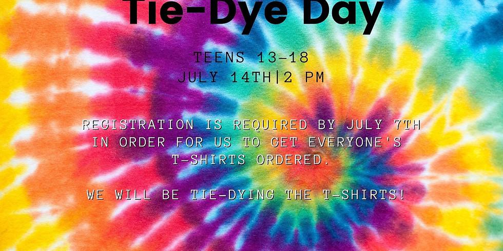 Teen (ages 13-18) Tie Dye