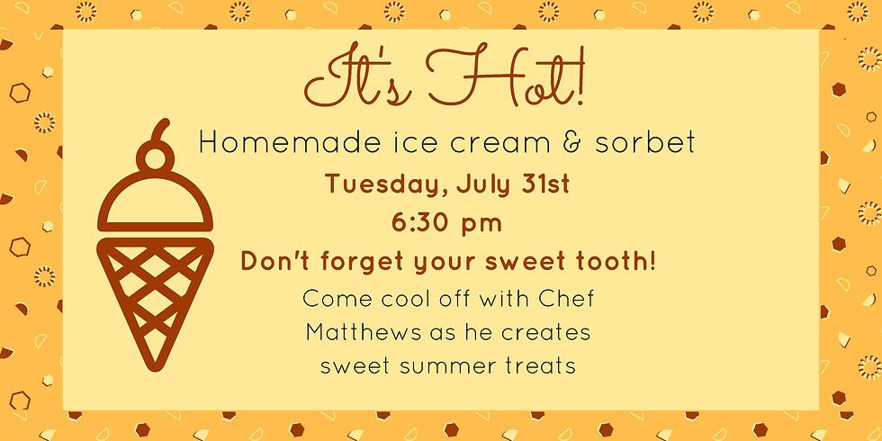 Good Eats: Homemade Ice Cream