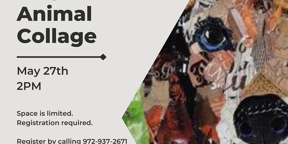 Magazine Animal Collage