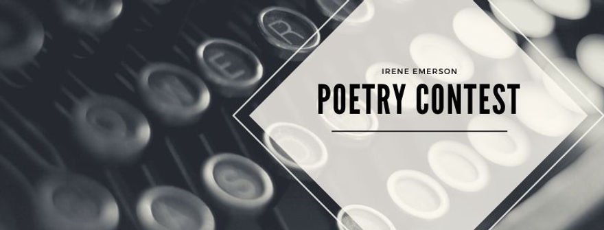 Irene Emerson Poetry Contest Banner