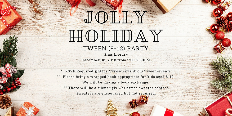 Tween Jolly Holiday Party