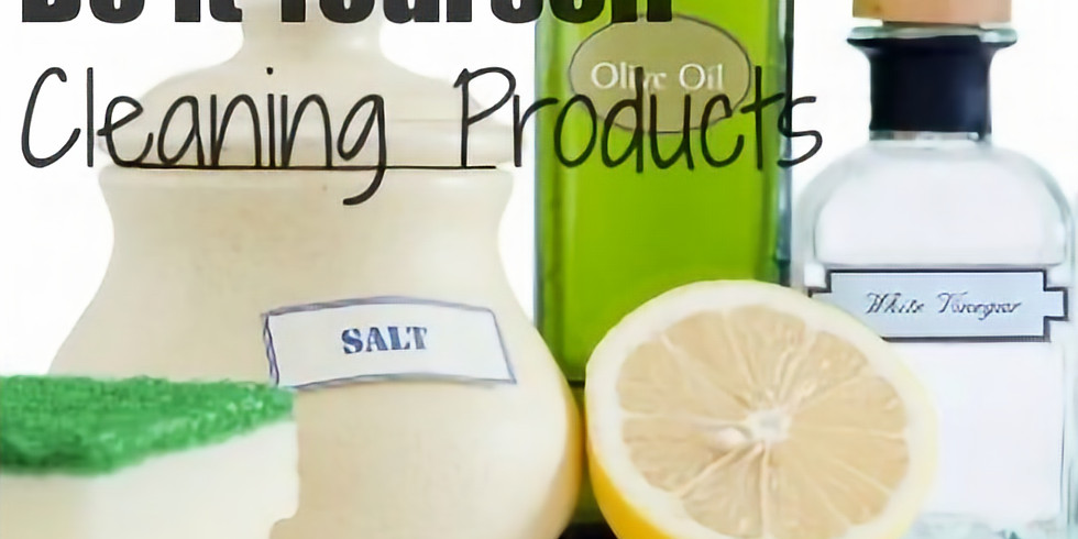 DIY - Green Cleaning Products