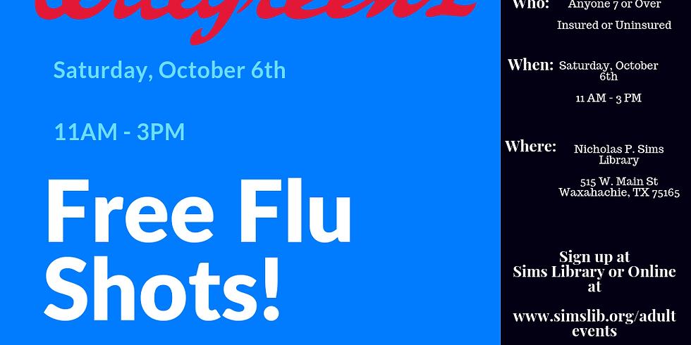 Walgreens - Free Flu Shots